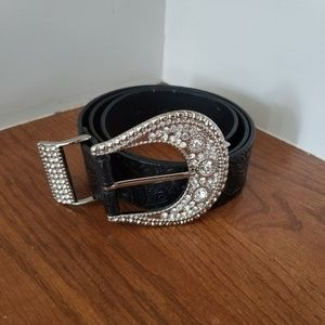 Chico's Faux Leather Belt